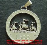 500 Lire 'Flotte des Kolumbus'