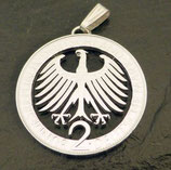 2 Deutsche Mark 'Bundesadler'