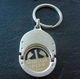 Einkaufs-Chiphalter mit Schlüsselring DM