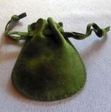 Samt-Schmuckbeutel Grün