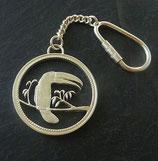 Schlüsselkette / Keyring Tukan