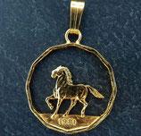 Prancing Horse golden