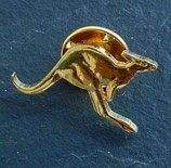 Pin Känguru golden