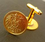 Manschettenknöpfe  'Kaiseradler' golden