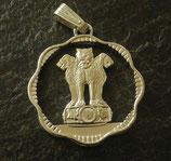 Ashoka-Löwen gewellt