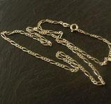 Figarokette Silber 42cm
