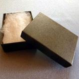 Geschenk - Karton Schwarz