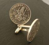 Manschettenknöpfe Shilling (Scottish Crest)