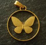 Kleine Baumnymphe Philippinen golden