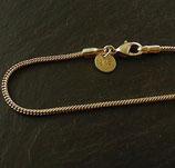 Schlangenkette Silber 60cm