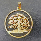 Baum des Lebens - Niue, golden