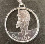 Kanada Running Timber-Wolf