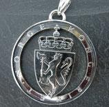 10 Kronen Wappen von Norwegen