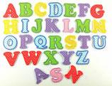 Gestickte Buchstaben (Applikation)
