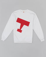 Sweatshirt Airplane white