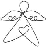 Engel Luna Draht Herz