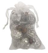 Tüte mit 10 Weihnachtskugeln mini
