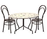 Esstisch-Set mit 2 Stühlen