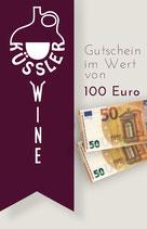 GUTSCHEIN im Wert von 100,– Euro