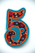 Nr. 5 türkis – orange