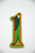 Nr.1 grün – orange