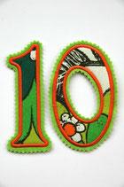 Nr. 10 grün – orange