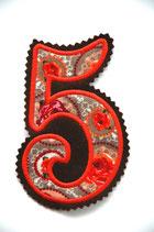 Nr.5 braun – orange