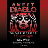 KEY WEST SWEET DIABLO BALSAMIC HOT SAUCE