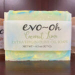 COCONUT LIME EVOO SOAP