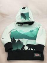 Sweat-Pullover Bär Größe 98/104