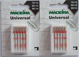 Universal Nähnadeln (Doppelpack) von Madeira