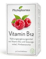 Vitamin B12 Phytopharma 30 Lutschtabletten