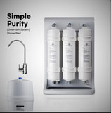 AQUA Simple Purity - Untertisch Wasserfilter System