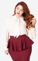 Gwen Bluse in ivory