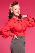 Kalia-Rose - Sweet lady like tie blouse