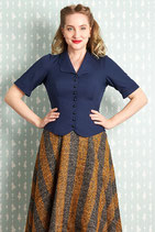 Mitzey-Lee Bluse navy