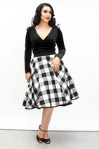 Checker Flanell Skirt