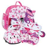 Tempish UFO Skateset für Kinder verstellbar pink / weiß