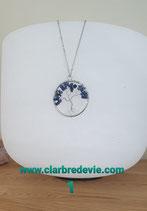 Pendentif Arbre de Vie Lapis lazuli