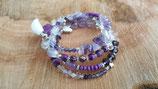 Bracelet Amethyste  (ref: Violet 1)