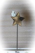 Stern mit Stab und Engel