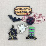 Knopfkollektion B05 Happy Halloween