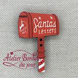 Knopf Santas Briefkasten 40