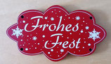 Knopf Frohes Fest