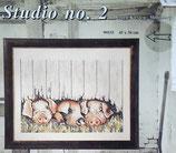 DMC Stickpackung Schweinchen