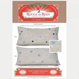 Rouge du Rhin - Palestina Cushion blau