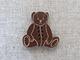 Knopf Teddybär klein braun