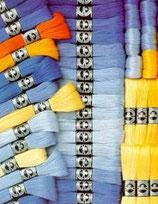 DMC Vierfachgarn Stärke 25 Farbverlauf