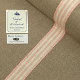 Leinenband rosa-gestreift 3020/30
