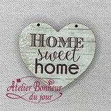 Knopf Herz Home sweet Home